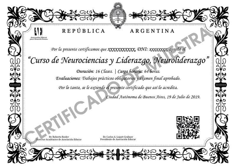 Diploma Neurociencias y Liderazgo