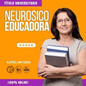 Curso Universitario de NEUROSICOEDUCADOR (CUOTA 1)